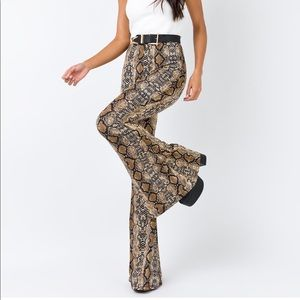 Princess Polly Snake Skin Pants